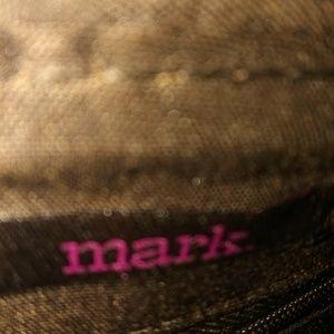"NWOT Brown ""Mark"" bag."